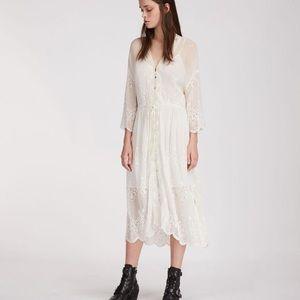 AllSaints Aileen Zinnia Broderie Dress